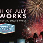 TOMORROW: Fourth of July fireworks, presented by Cirque du Soleils Kurios. Get tickets: http://t.co/M691GJ46QF http://t.co/dU7PyghcBn