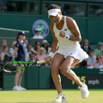 Serena Williams wins 6-2,4-6,7-5 but what an incredible display by @HeatherWatson92 ! http://t.co/YgBJm6TauS