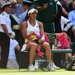 Heartbreak for Heather Watson who came so close to beating Serena Williams. What a game #Wimbledon http://t.co/u62aYha1Pi