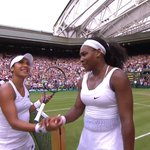 A standing ovation for Britains @HeatherWatson92 as she departs Centre Court - a star is born at #Wimbledon! http://t.co/AqIOdxlbQ6
