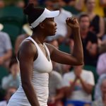 So, in the next round youll see Venus. And Serena. At the #Wimbledon arena. Sorry. http://t.co/YqoA8Iku4s