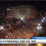 Parece que toda la dignidad hoy se ha quedado en Grecia y ha salido a la calle. #OXI #YoVoyConGrecia http://t.co/jR6sfhapJr