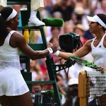 And breathe.... What a game & credit to @serenawilliams & @HeatherWatson92 for entertaining everyone #Wimbledon http://t.co/q24FvPhGGk