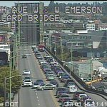 Avoid the #Ballard Bridge at all costs! @seattledot says it has malfunctioned while open. #Q13FOX http://t.co/dXuAUn2GFR