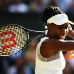 So it will be Serena Williams vs Venus Williams on Monday - first time they have met at Wimbledon since 2009! http://t.co/9ctEEomSz9