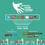 Terima kasih atas supportnya r100 FM @99ersRadio_Bdg Radio partner, atas kelancaran event #BandungMudaBerbagi http://t.co/083lxpy4Kx