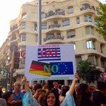 Barcelona y Grecia dicen NO a una Europa alemanizada! #OXI #DecimosNOconGrecia @Hibai_ @ctxt @AlbaFerrs http://t.co/2LCvATkM9O