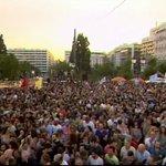 Grecia no se rinde.. Allí nació la democracia y Ahi es donde esta renaciendo.. España sera la siguiente.. #OXI http://t.co/kQP70g9Sj8