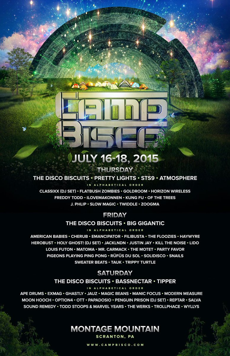 just dropped the @campbisco lineup by day! what day are you most excited for?! http://t.co/FkMB5PLzQd  #campbisco http://t.co/PbCEShXuOz