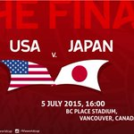 .@NYCARE_Wellness 9 curated http://t.co/UBLHlf0qEQ #sports etc. + #FIFAWWC #FIFAWWCFinal #USA #JPN http://t.co/NmHIEKYJkD (photo: @FIFAWWC)