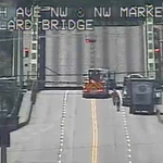 Ballard Bridge no longer stuck in air, but remains closed to traffic due to a malfunction. >> http://t.co/xVCm31624j http://t.co/smgRgObdO5