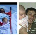 #Assadcrimes  father & child in #Daraa #Syria @RevolutionSyria http://t.co/kS3R9iKYun