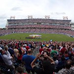 The 44,835 in attendance at #USAvGUA tonight in Nashville have set a new #USMNT attendance record in Tennessee! http://t.co/pdZuVPN3em