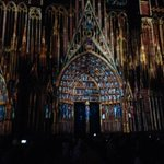 Derniers réglages spectacle millénaire #1000cathedrale http://t.co/OuV3WGAW7s