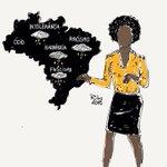 A única taxa de racismo que toleramos é ZERO #SomosTodosMajuCoutinho. O cartunista Ribs resumiu tudo nesta imagem. http://t.co/0wS0by6YQ8