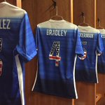 These are tight. RT @SportsCenter: #USMNT will be wearing sweet patriotic jerseys in tonights friendly vs Guatemala. http://t.co/tLz5iCo3Ob