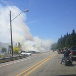 #UPDATE WSP: 525 is closed from MP 16 to MP 18. Still no word on extent of damage or injuries. http://t.co/KVCq1GvTIl
