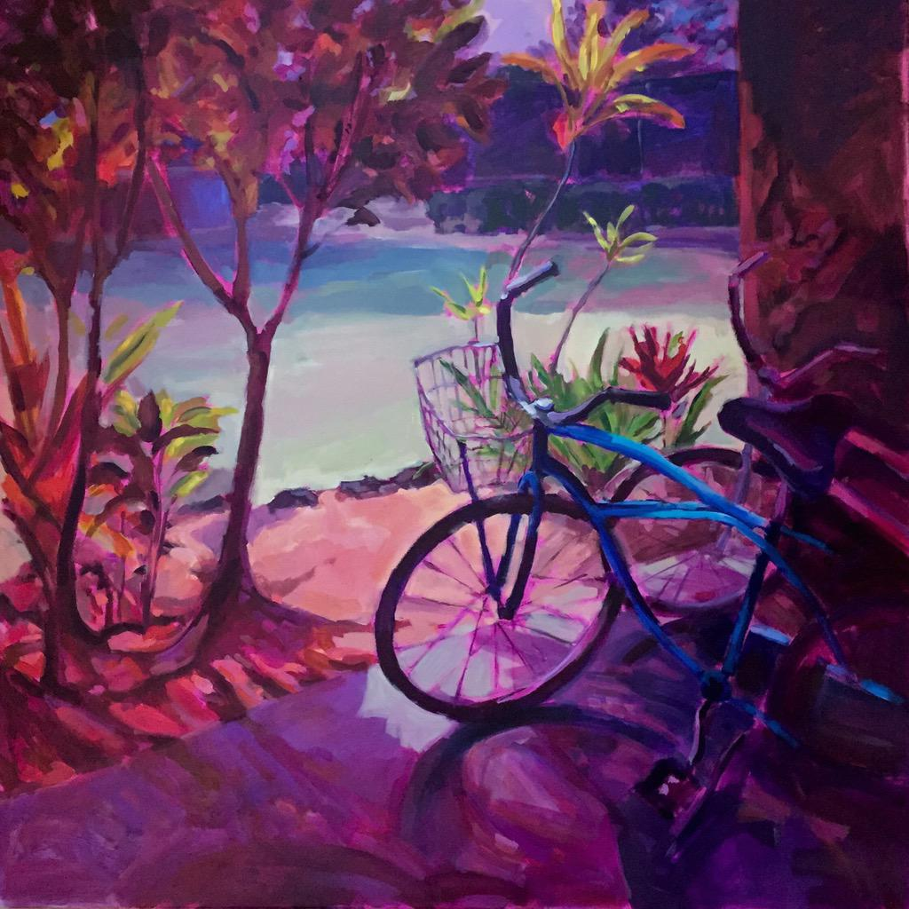 "#TwitterFirstFriday ""Bicycle Memories"" #art http://t.co/UDaWHYBRtN"