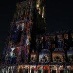 #Strasbourg avant-première du spectacle dété à la #cathédrale http://t.co/n0HMzvvXx8