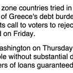 Exclusiva Reuters: Gobiernos europeos intentaron bloquear informe del FMI sobre deuda griega http://t.co/diA4oJoZlw http://t.co/XSe1N0pNIY