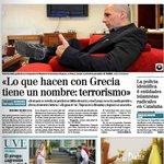 EL MUNDO: Lo q hacen con #Grecia tiene nombre: terrorismo #YoVoyConGrecia #Greece #OXI #Greferendum #dimopsifisma http://t.co/YWn2OTFCRc