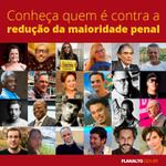.@caetanoveloso, @unicefbrasil, @danielamercury e outros contra a redução da maioridade penal http://t.co/LYYCWV2187 http://t.co/fd5R2fighT