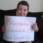 RT @goodbye2cancer: @MrPeterAndre would be so grateful if you could RT #football2cancer0 donate to http://t.co/MkJYFDULBL^
