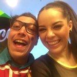 """""""@CiprianoTv: Con mi amiga @ArelyTellez 👏🏼👏🏼 http://t.co/jyKTv2tcS0"""" como están bellos y preciosos ustedes #Aroopy 😍😍🙈"""