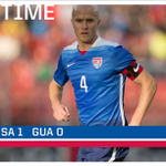 HALFTIME! #USMNT goes into the locker room with a 1-0 lead over Guatemala. #USAvGUA http://t.co/m4iXhBwEIp