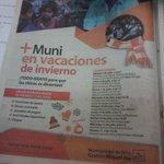 La muni en mi barrio! La muni en verano! #ahora la muni en vacaciones...accion social siempre a tu lado @miguelisaok http://t.co/frkyAISwgn