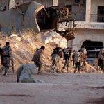 صور من العمل العسكري في #جمعية_الزهراء   نصر وثبات للابطال الشرفاء  #غرفة_فتح_حلب  #حلب http://t.co/kmYYDxzGlZ