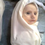 This is not a doll this is little Nour starved to death under Assads siege in #Syria http://t.co/RsrQcdVCGj