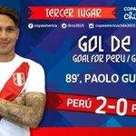 Otra vez, el goleador de Chorrillos: desde Lima a Concepción para  #Perú 2-0 #Paraguay http://t.co/3C9NqmvIU2 http://t.co/Hbf2hDST4i