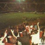 En el estadio que #ARG jugará la final de la #CopaAmérica, #Colón jugó su 1º partido internacional. #ArchivoSabalero http://t.co/iNpP0ifVe2