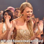 #Swifties! Send us a selfie of your reaction to @taylorswift13 hitting 1B using hashtag #BlankSpace10xCertified ???? http://t.co/W1EdUjeBJ4