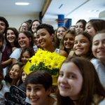 Menina apedrejada após festa de candomblé é homenageada em escola judaica. http://t.co/6fD6tFqHac http://t.co/3y9BXO1Q9d