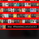 AquI sumándome con mis hijos al #PaseDeLista1al43 porque olvidar es permitir que lo olvidado se repita. RT por favor http://t.co/Hpf0wHshTl