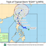 PAGASA, 11 am: #EgayPH slightly accelerated as it moves closer to northern Luzon. http://t.co/M3ZOBOttz8 http://t.co/IuXoTWP6OX