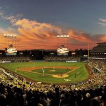 """Looks like the master painter wiped off his brush against the sky."" -Vin Scully http://t.co/lSnWuN9QW3"