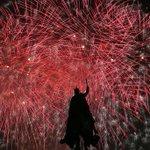 Fireworks close second day of @FairSaintLouis under the gaze of King Louis IX. http://t.co/JhB0fruPzc
