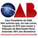 #LulaNaCadeiaJa Deputados aprovam redução da maioridade penal com 15 votos além do necessário http://t.co/jSjfFaM3GK