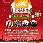 JakCloth LEBARAN 4-12 Juli 2015, Plaza Tenggara Senayan. More info @JakCloth http://t.co/Gpdv4Q13hh #jakclothlebaran http://t.co/mpcUJD4GTp