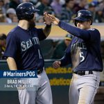 A double and a dagger. Brad Miller is tonights #MarinersPOG. http://t.co/W5d0totp4U