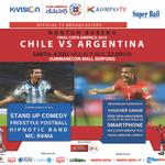 Yuk, nonton bareng Final Copa America 2015 jam 10 malam nanti di @SMS_Serpong ada aksi stand up comedy juga lho! http://t.co/NMB8nA89Kc