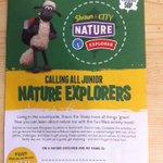 Come down to the Bioblitz in Victoria Park & do the #shauninthecity nature trail #Bristol http://t.co/k7AajjAsVA