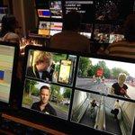 Alle verslaggevers zijn er klaar voor. Over een kwartier begint live De Ronde van Utrecht. Kijken dus! #drvu http://t.co/K1BMXxOjmI