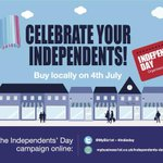 Happy Independents Day!  Please support local businesses today.  Tell us if you are doing any special #IndieDay http://t.co/Ci9l75flOE