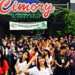 Say cheese~ 😁😁 #jkt48ofc2cimory http://t.co/cO9oKF4kIR