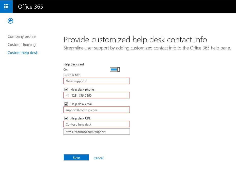 "Nice new #Office365 feature: ""Custom Help Desk""! http://t.co/NHSfbiyYWu"