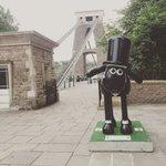 Oh hey Isambaaard #Bristol http://t.co/ooC4Jb9XAA